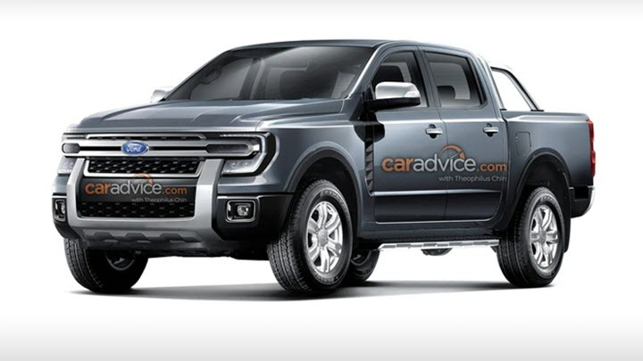 Ford Ranger mới sẽ có ngoại hình lột xác?
