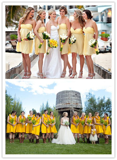 8aad62855a2 WhiteAzalea Destination Dresses  Bridesmaid Dress Colors-Yellow ...