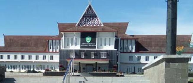 kantor Bupati Kabupaten Tapsel