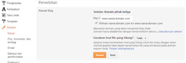 Cara Mengalihkan Domain Baru Dari Non WWW Ke WWW (Blogger/ Blogspot)