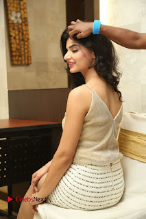 Actress Kamana Ranawat  Pictures in Short Dress at Selfie Raja Movie Success Meet  0155.JPG