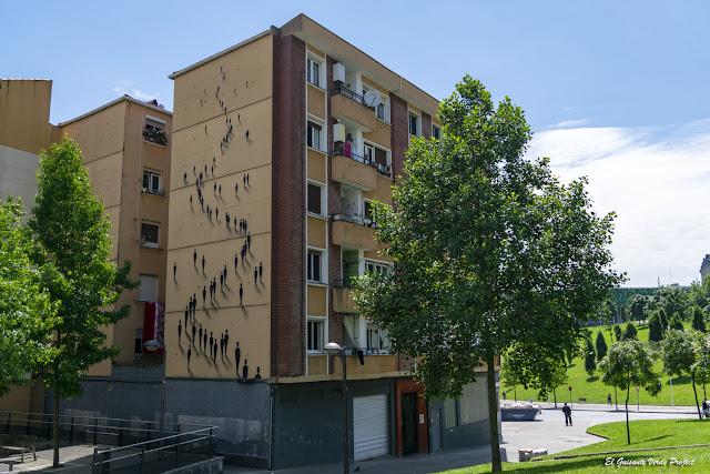 Mural en Concepción 13, por SUSO33 - Bilbao, por El Guisante Verde Project