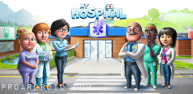 لعبة محاكاة My Hospital v1.2.06 مهكرة