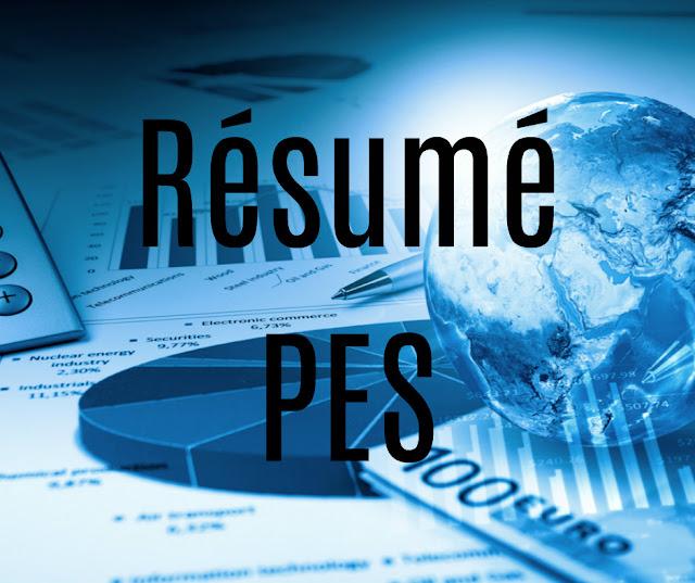 Cours et Résumé PES- Web Faculte