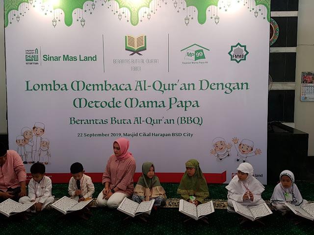 Lewat Lomba Baca Al-Qur'an Sinar Mas Land Tanamkan Cinta Al-Qur'an