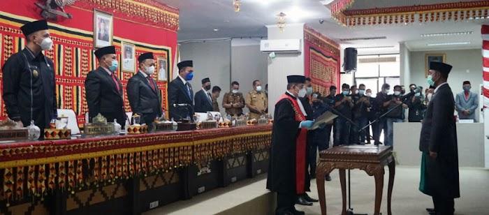 Wakil Ketua DPRD Lamsel Resmi Dijabat Waris Basuki