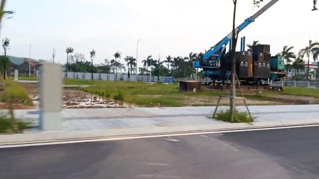 Tiến độ mới nhất liền kề chung cư Helianthus Center Red River dự án Vimefulland Cổ Dương Đông Anh Hà Nội