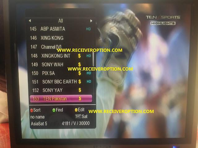 GX6605S 5815 V4.1 TYPE HD RECEIVERS POWERVU KEY SOFTWARE NEW UPDATE