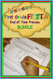 First Grade End of Year Math Review