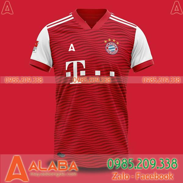 Áo bóng đá đặt may đẹp mã ALB 126