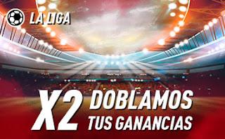 sportium promo LaLiga: Doblamos tus ganancias 12-13 septiembre 2020