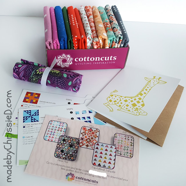 Cotton Cuts Subscription Box by www.madebyChrissieD.com
