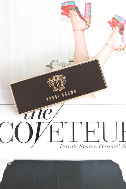 Bobbi Brown cool dusk eyeshadow palette the Coveteur book