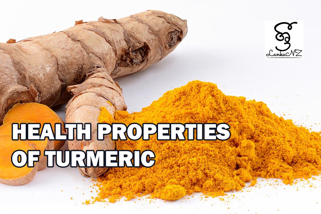 Health Properties of Turmeric by Hemantha Lugoda – Wellington