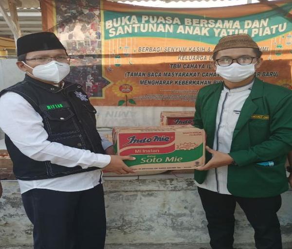 IKAPTK Kabupaten Tangerang Salurkan Paket Sembako