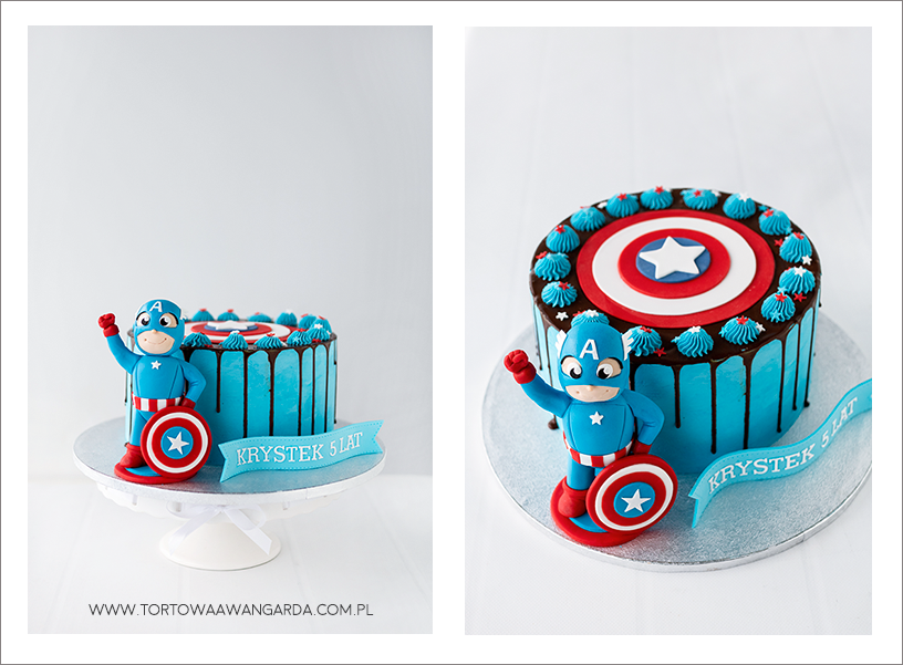 tort drip cake warszawa bez masy cukrowej