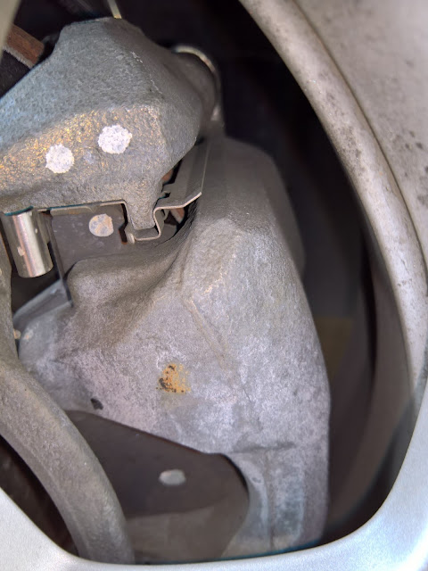 CarPro Iron-X corrodes untreated metal