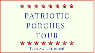 Patriotic porch tour