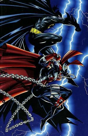 Cómic Spawn / Batman de McFarlane y Frank Miller
