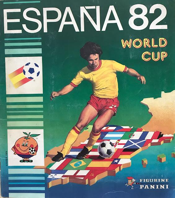 Copertina Album Spagna 82