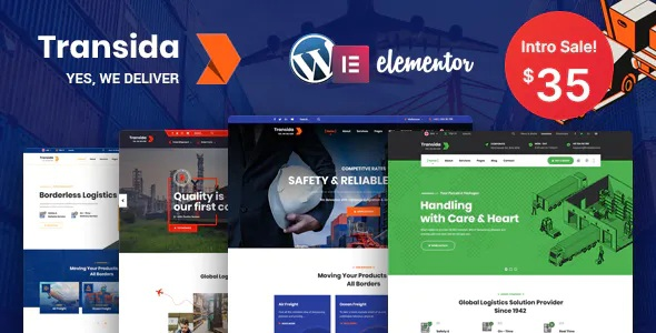 Best Logistics WordPress Theme