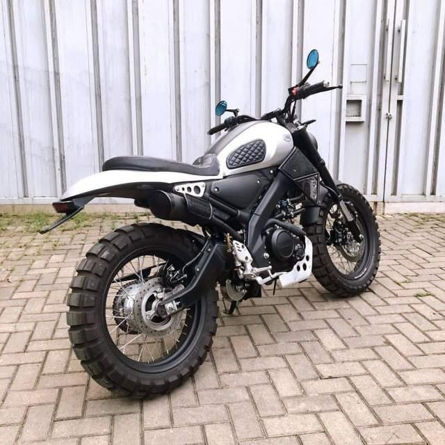 Custom XSR155 body belakang