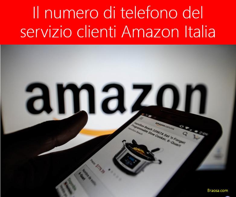 Telefono Amazon Servizio Clienti Italia