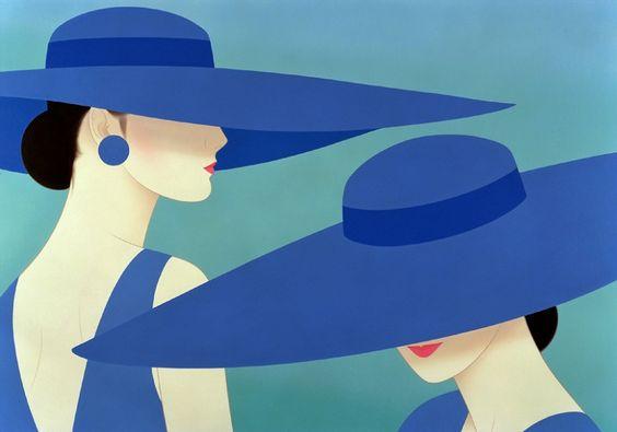 Byelisabethnl Art Japanese Beauty In Art Deco Style By Artist Ichiro Tsuruta 02