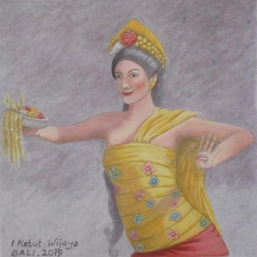 Gabor Dance Bali, Tari Gabor Bali