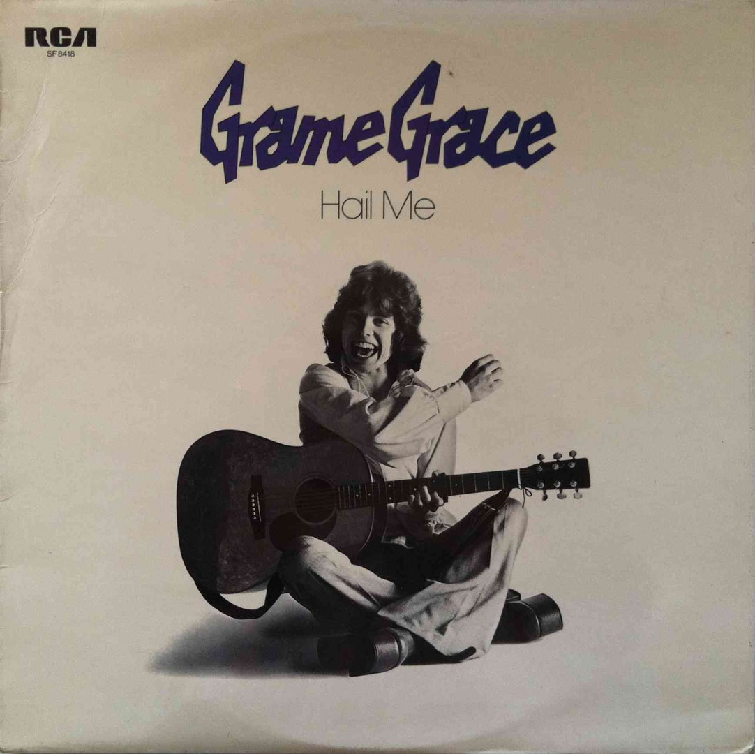 There are some clips of Grame Grace on Youtube - and In particular on The  Denim Disco Channel which has a superb selection of little know 70s Glam..~
