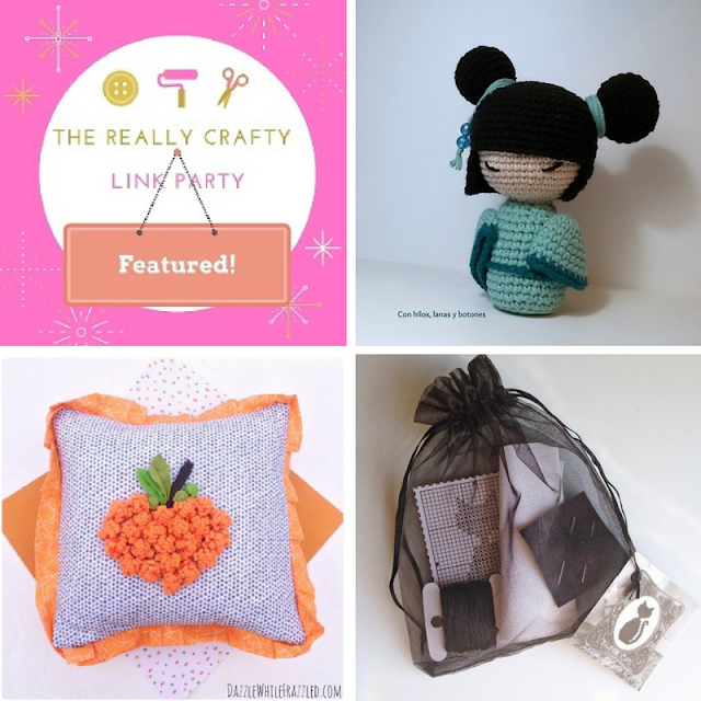 The Really Crafty Link Party #38 featured posts