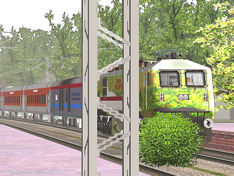 MSTS Open Rails Indian Railways: MSTS Delhi Calcutta Route