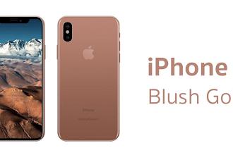 Stiamo per conoscere il nuovo iPhone X Blush Gold (tra pochi giorni)