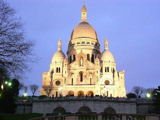 Basílica sagrado corazón, que ver en paris en 4 dias