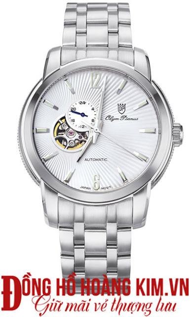Đồng hồ nam dây inox Olym Pianus đáng mua nhất 2016