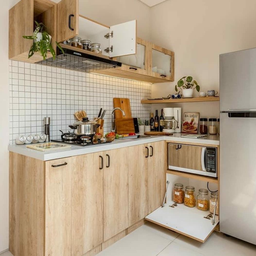 Kumpulan Inspirasi Desain Dapur Minimalis Bahan Kayu Yang