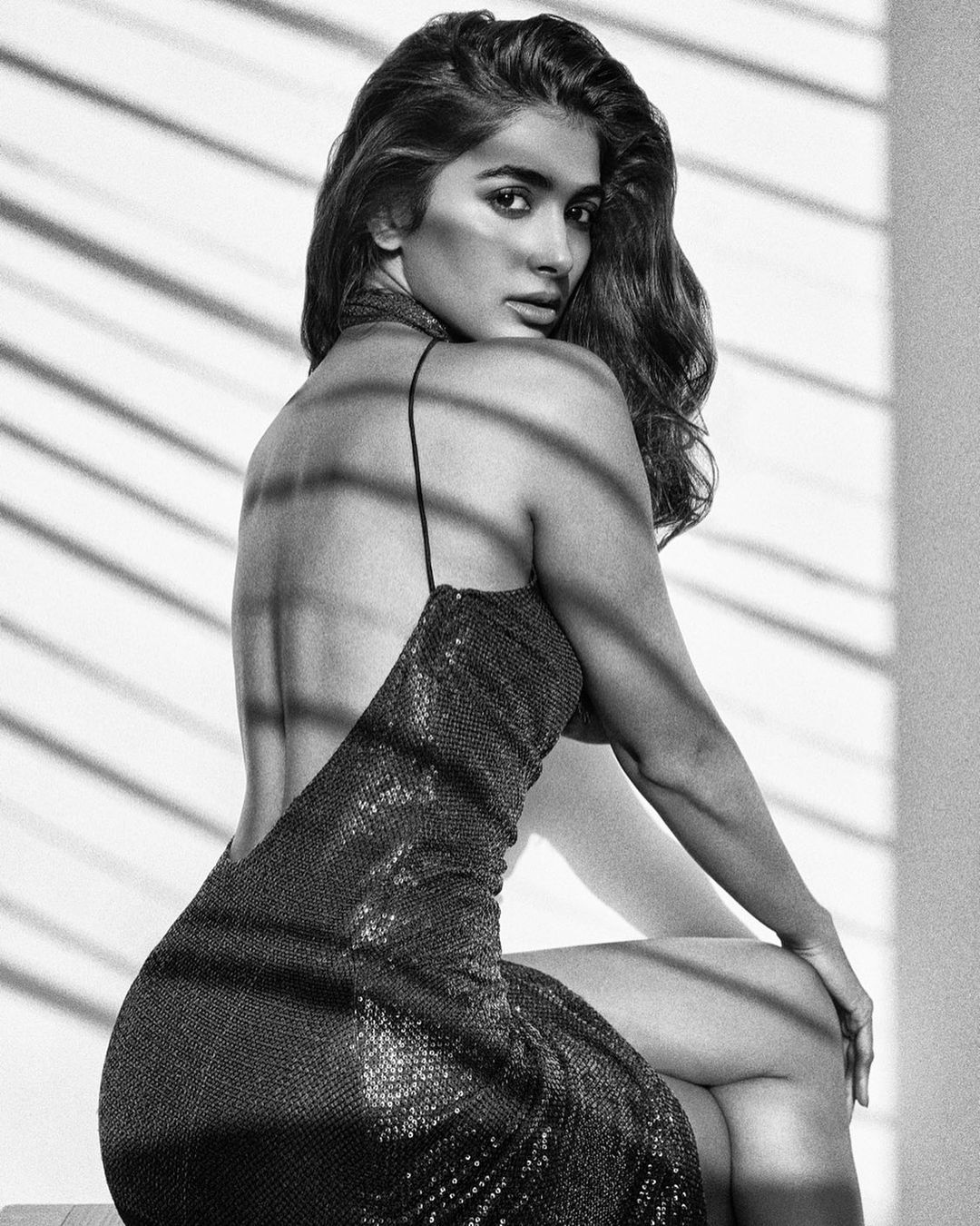 Actors Gossips: Pooja Hegde shares scintillating monochrome photo in saxy backless dress, leaves fans wanting more