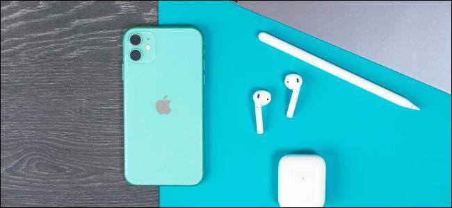 iPhone و iPad و AirPods و Apple Pencil