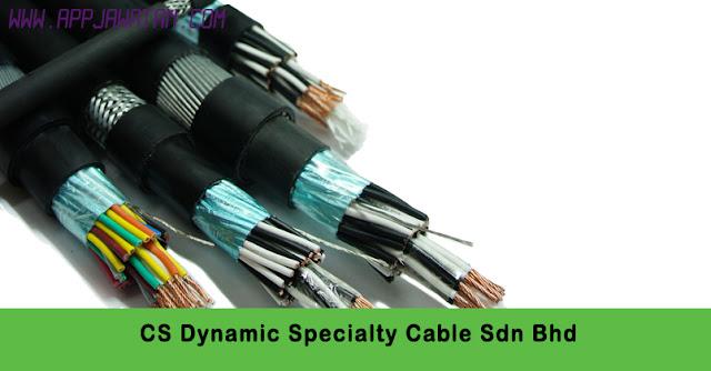 Jawatan Kosong di CS Dynamic Specialty Cable Sdn Bhd.