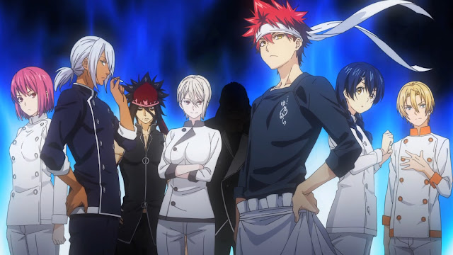 Download Kumpulan Video Anime Shokugeki no Souma Season 2 BD (Episode 1-13) Sub Indo