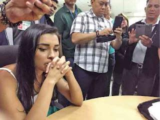 Yasmin Fernandes Silva, presa nas filipinas
