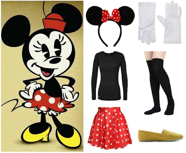 Minnie Mouse Costume - Disney Halloween Costume Ideas