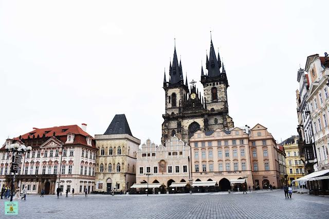 Plaza de Praga en Stare Mesto