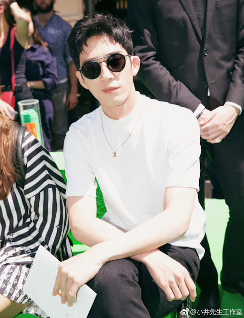 Jing Boran Louis Vuitton Men's Wear Week June 2018