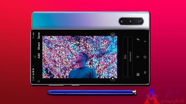 النوت 10 بلس يتوج كأفضل هاتف ذكي من حيث الشاشة