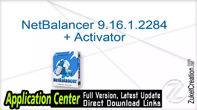 NetBalancer 9.16.1.2284 + Activator
