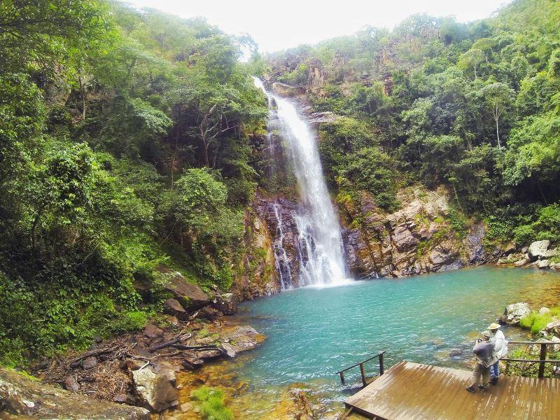 Cachoeira Serra Azul em Rosário Oeste