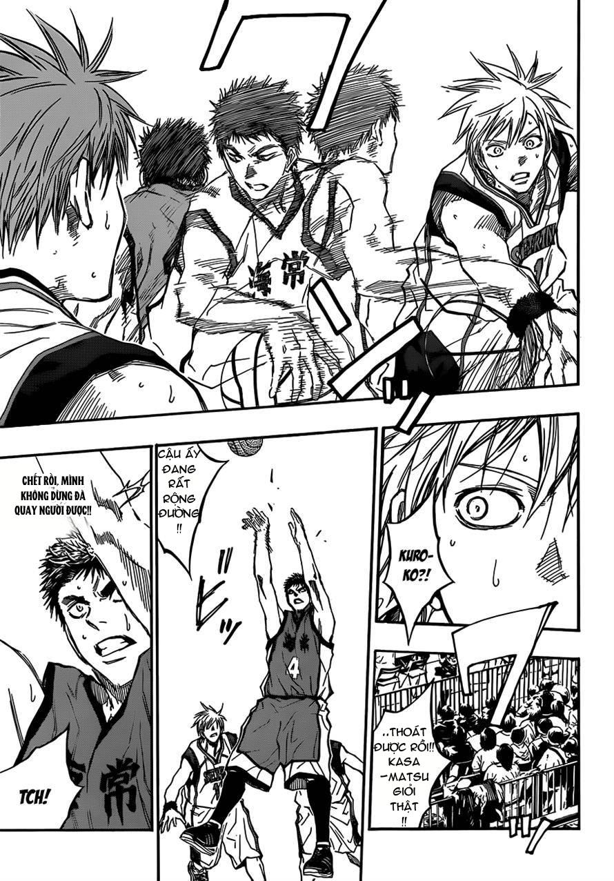 Kuroko No Basket chap 187 trang 11
