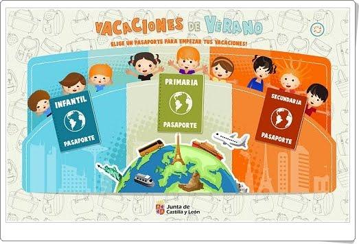 """""""Vacaciones de Verano"""" (Juegos multidisciplinares de Infantil, Primaria y Secundaria)"""