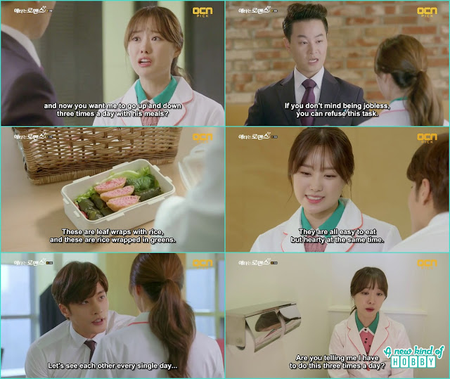 Jin wook sectary ask yoo mi to make 3 meals daily for the ceo which make her in a difficult position - My Secret Romance: Episode 3